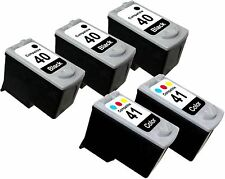 5PK FOR CANON PG 40 CL 41 PG40 CL41 0615B002 0617B002 PIXMA IP1700 IP1800 IP1900