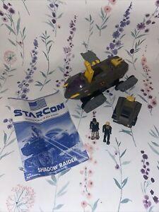 STARCOM Shadow Force Shadow Raider W. Capt. Battlecron - 9 Coleco Vintage 1986