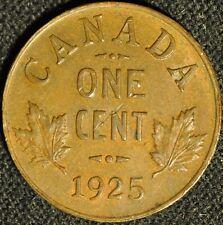 Canada 1925 Penny - Buyers Grade -