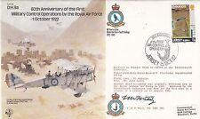 B9c 1st Military Operations 1 Oct 1922 by RAF Signed F W F West VC WW1 Pilot