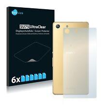 6x Film Protection écran pour Sony Xperia M5 (Arrière) Protecteur