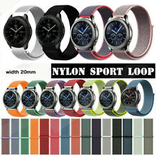 20MM 22MM Universal Sport Nylon Watch Band Quick Release Pin Wrist Strap Elastic