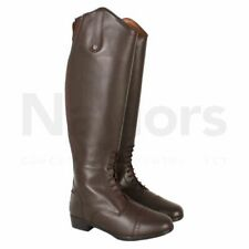 Womens Horseware Long Leather Brown Riding Boots RRP £157.99