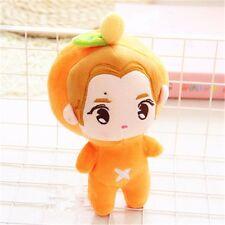 "KPOP Stars EXO-M Luhan 23cm/9"" Plush Toy Orange Fan Goods Stuffed Doll Kid Gifts"