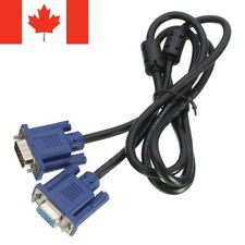 VGA to VGA Cable Male To Female 1.5m SVGA Monitor Extension Cord Plug for PC