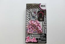 NEW Barbie Doll Hello Kitty Fashion Pack Hello Kitty Dress Outfit Sanrio