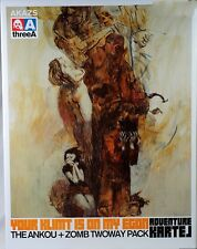 3A ThreeA Ashley Wood Adventure Kartel ANKOU + ZOMB TWOWAY PACK 1/6