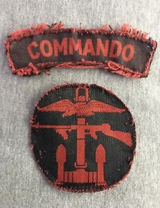 Original British Combined Operations Commando Insignia
