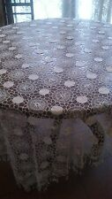 Antique Lace Bedspread Or Tablecloth