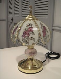 Rose and Butterfly TOUCH LAMP with 3-Way Touch Sensor Control