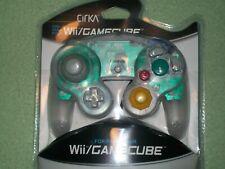 BRAND NEW Nintendo GameCube CirKa Clear Transparent Controller Gamepad Wii Smash