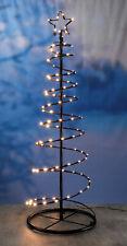 Metall Weihnachtsbaum 100 LED - Metallbaum Außen Tannenbaum Weihnachts Deko