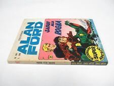 ALAN FORD ORIGINALE # 107 CON ADESIVI edizione CORNO 1978 PRIMA EDIZIONE GADGET1
