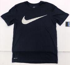 Alianza Lima Nike Swoosh Logo Shirt Men Medium Navy Blue Farfan Guerrero Peru