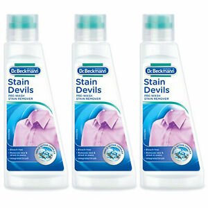 Dr Beckmann Stain Devils Pre Wash Stain Remover 250ml  X3