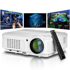 Multimedia 5000lm LED Projector Video Games Home Theater HDMI 7000:1 Party US