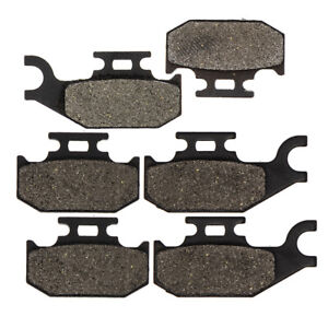 Front And Rear Brake Pads For BOMBARDIER TRAXTER MAX 650 2003-2005