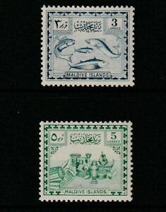 QEII MALDIVES 52 pair fresh lmm