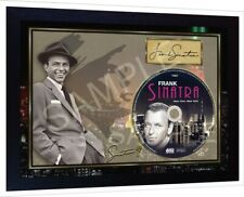 Frank Sinatra New York SIGNED FRAMED PHOTO CD Disc Perfect gift #1