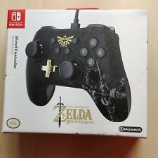 Nintendo Switch Wired Controller - Legend of Zelda: Breath of the Wild (PowerA)