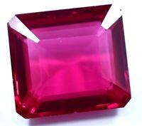 16.65 Ct Natural Mogok Pink Ruby Emerald Cut AGSL Certified Stunning Gemstone !!
