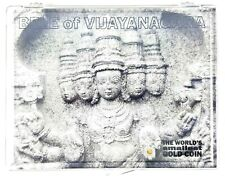 Worlds Smallest Gold Coin: Bele of Vijayanagara In Clear Box & Story Certificate