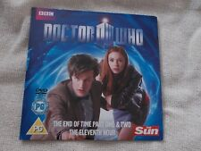 DVD - Doctor Who - End of Time / Eleventh Hour - Newspaper Promo Disc