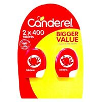 Canderel Sweetener Sugar Substitute Sucralose 0 Calorie Twin Pack 2 x 400 Tablet