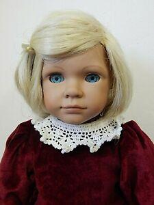 """BETH Heidi Ott Best Friends 18"""" Blonde Vinyl Doll w/Original Dress, EUC"""