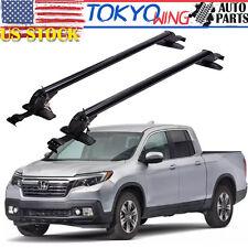 Universal Roof Rack Window Frame Cross Bars Luggage Carrier Sedan Truck Pickup