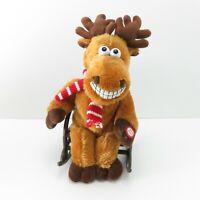 DanDee Collector's Choice PLUSH Musical reindeer Rocking Chair