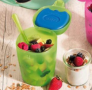 Fruit ice Box 500ml 0,5lt per trasportare e conservare frutta macedonia Snips