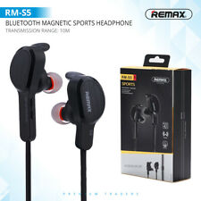 REMAX® RM-S5 Wireless Bluetooth Magnetic Adsorption Sports Headphones Earbuds