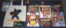 Donkey Kong Country #1, #2 and #3 (SNES TRILOGY) Complete Games with BONUS Items