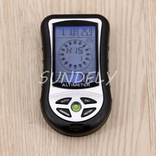 8 In 1 Digital LCD Compass Altimeter Barometer Thermo Temperature Calendar FAST