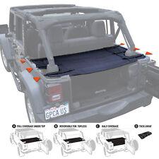 GPCA Cargo Cover PRO for TOP ON/ TOPLESS Jeep Wrangler 4 Door JKU 2007-2017