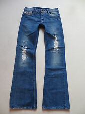 Diesel ZATHAN wash 008AR Bootcut Jeans Hose, W 31 /L 34, Ripped Denim, RARITÄT !