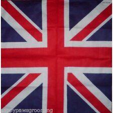 UNITED KINGDOM UK Union Jack Britain Flag Bandana Scarve Scarf Head Neck Wrap
