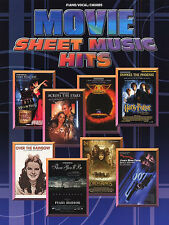 Movie Sheet Music Hits Learn to Play James Bond Chicago Piano Guitar Book