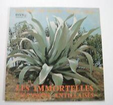 Les IMMORTELLES CHANSONS ANTILLAISES Debs, Alcindor & Pioche (Vinyle 33t / LP)