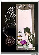 Kuroshitsuji/Black Butler Manga Anime  Montre Pendentif  黒執事