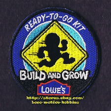 LMH PATCH Badge  2009 READY TO GO KIT Speedy Sign LOWES Build Grow Kids Clinic