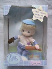 Precious Moments Baby Boy Collection Plush DAVID w/ Baseball Bat & Glove NIB