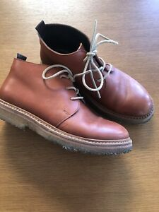 MADE IN ITALY Punto Pigro Brown Boots Size 39
