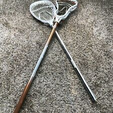 STX Lacrosse Head With Brine F22 Lacrosse Shaft Orange + Nemesis Warrior Lot