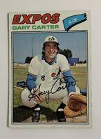 1977 Gary Carter # 295 Topps Baseball Card Montreal Expos HOF