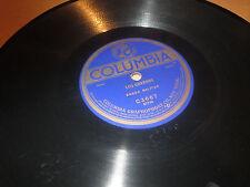 78RPM Columbia C3667 (rare series) Banda Militar, Los Crudos / Los Charros V