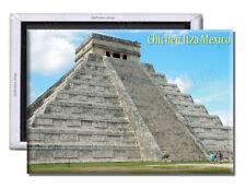 Chichen Itza Stairs Mexico - Souvenir Fridge Magnet