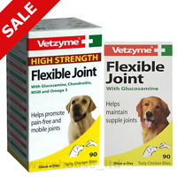 Vetzyme Joint Tablets for Dog, High or Standard Strength Flexible Joint Capsules