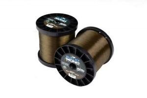 Nash Bullet Mono 3000m Bulk Spool 12lb 15lb 20lb Green Brown Carp Fishing Line